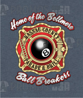 first responders fire department ems ambulance maltese cross parade drill custom printing embroidery tee shirt t-shirt tshirt tees cap caps logo