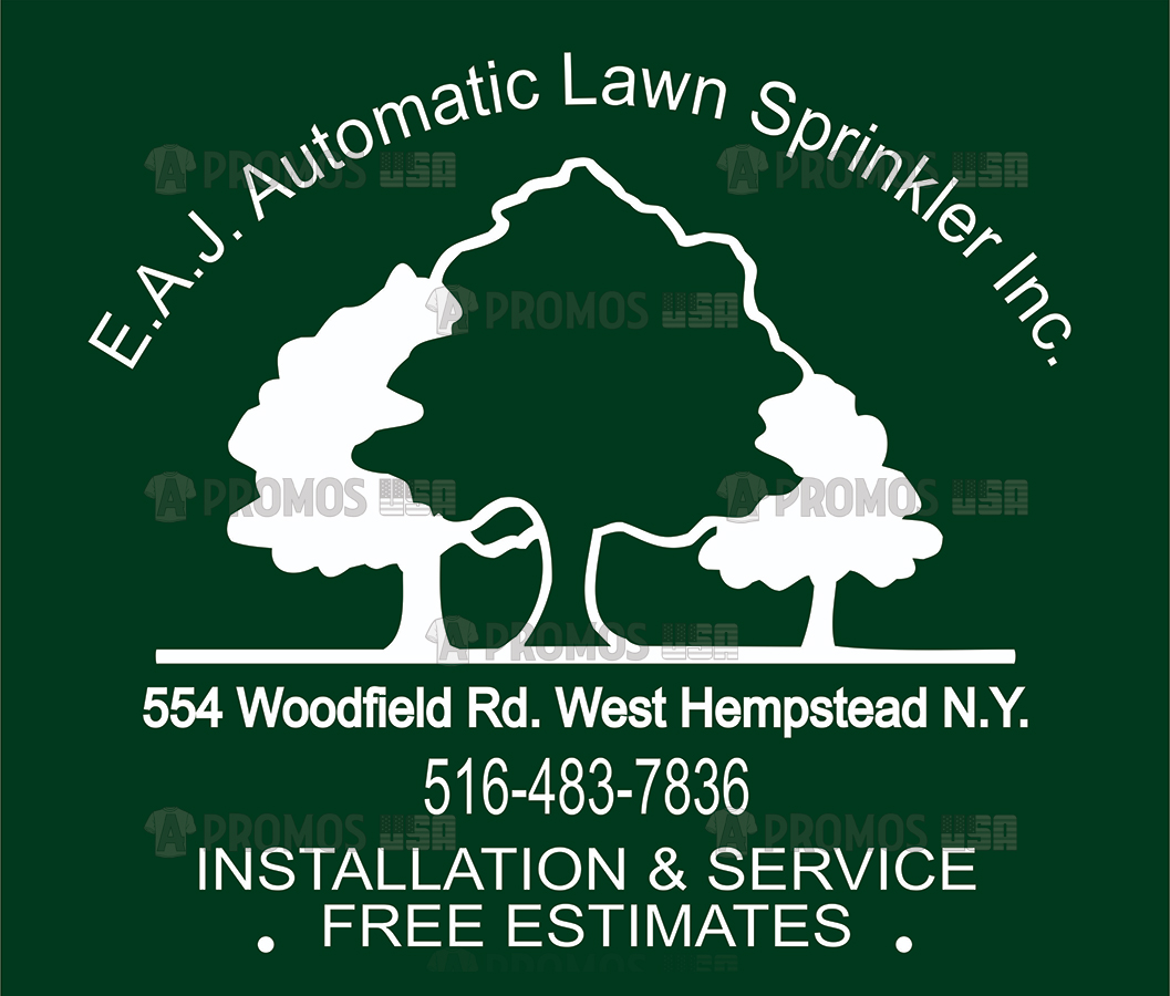 landscaping landscaper lawn service tees t-shirt tshirt teeshirt caps logo screen printing and embroidery tree logo
