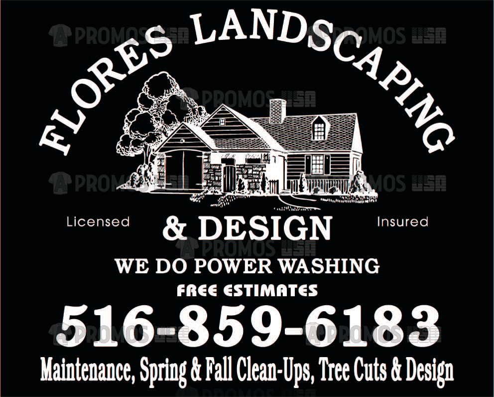 landscaping landscaper lawn service tees t-shirt tshirt teeshirt caps logo screen printing and embroidery