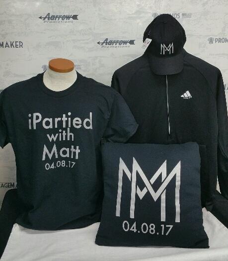 bar bat bnai mitzvah party favors hoodies hoody tees t-shirt tshirt teeshirt caps monogram initials metallic theme logo screen printing and embroidery