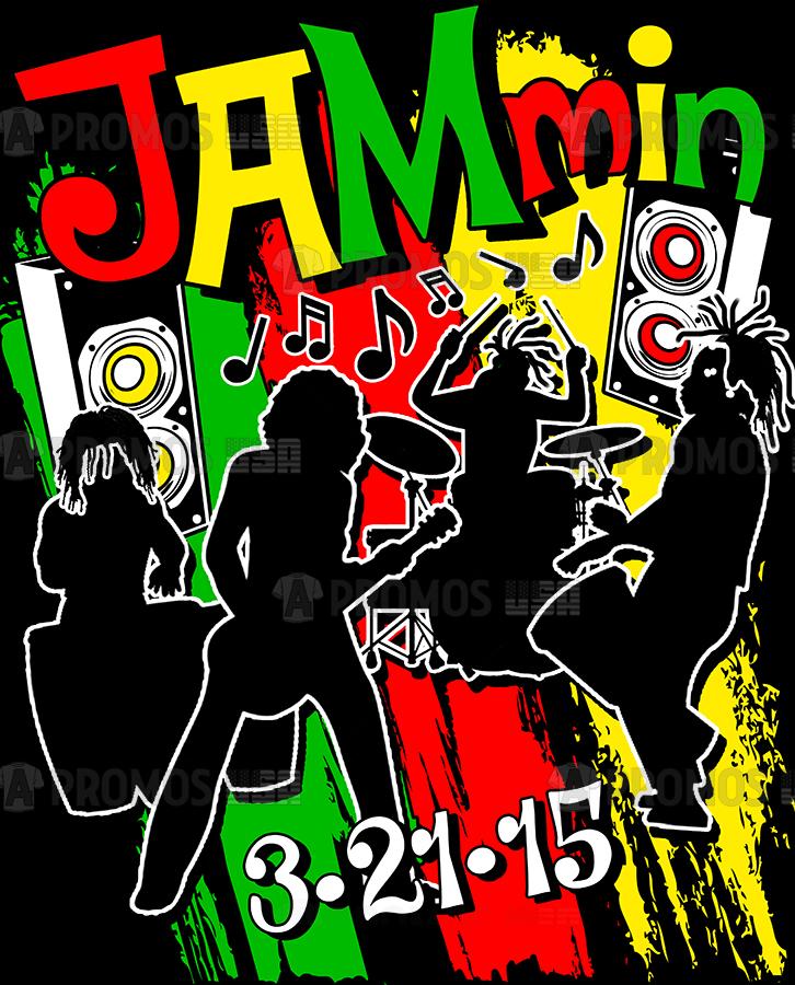 bar bat bnai mitzvah party favors hoodies hoody tees t-shirt tshirt teeshirt caps reggae colors band music theme logo screen printing and embroidery
