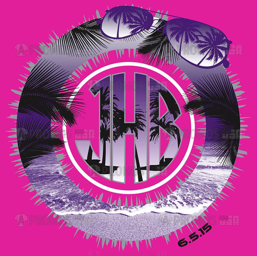 bar bat bnai mitzvah party favors hoodies hoody tees t-shirt tshirt teeshirt caps summer beach monogram sunglasses palm trees theme logo screen printing and embroidery