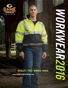 Game WorkWear 2016 Catalog